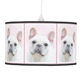 French Bulldog (Cream/White) Pendant Lamp