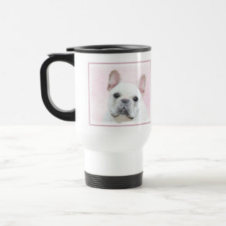 French Bulldog (Cream/White) Travel Mug
