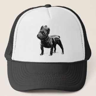 French Bulldog Crown Dog Puppy Trucker Hat