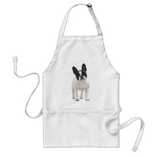 French Bulldog cute photo apron, gift idea Standard Apron
