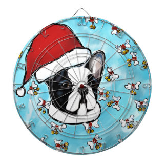 French Bulldog Dartboard