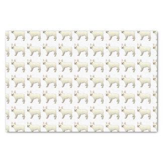 French Bulldog Dog Breed Illustration Silhouette Tissue Paper