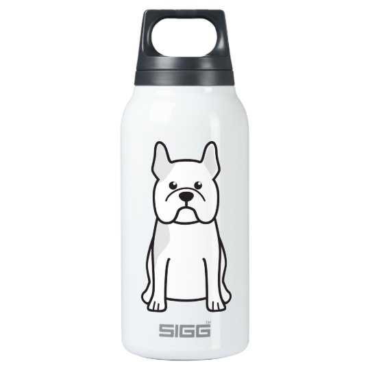 French Bulldog Dog Cartoon Insulated Water Bottle