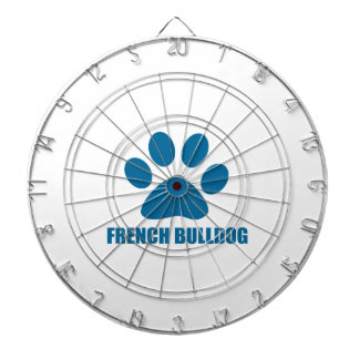 FRENCH BULLDOG DOG DESIGNS DARTBOARD