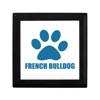 FRENCH BULLDOG DOG DESIGNS GIFT BOX