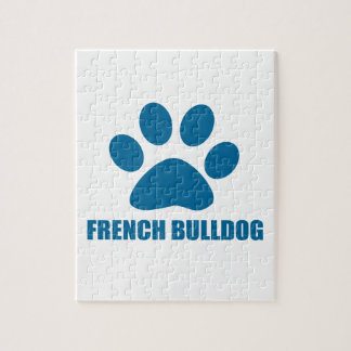 FRENCH BULLDOG DOG DESIGNS JIGSAW PUZZLE