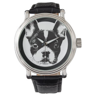 French Bulldog Dog Face Watch