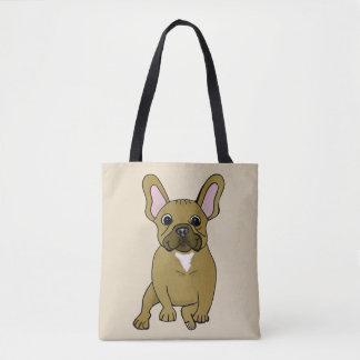 French Bulldog Dog Lover Tote Bag