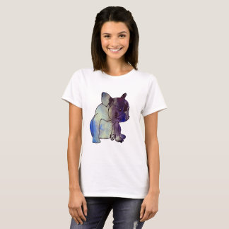 French Bulldog Dog Puppy Watercolor Art Shirt