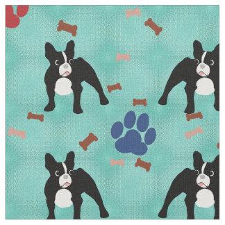 French Bulldog Fabric