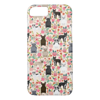 French Bulldog Floral phone case - iphone case