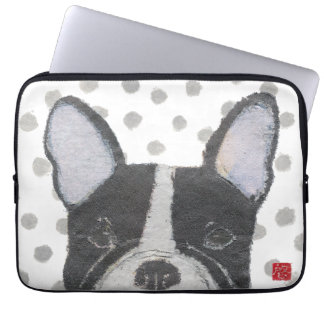 French Bulldog, Frenchie Laptop Sleeve