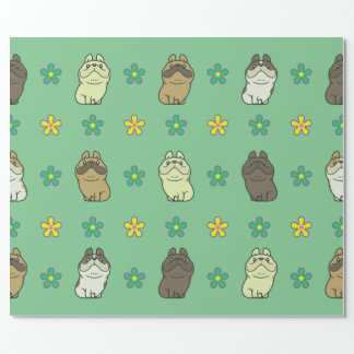 French Bulldog & Friends Wrapping Paper