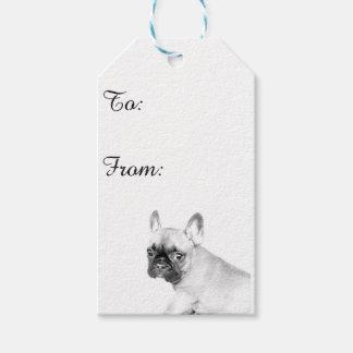 French Bulldog Gift Tags