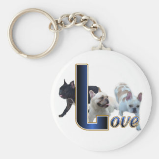 French Bulldog Gifts Keychain