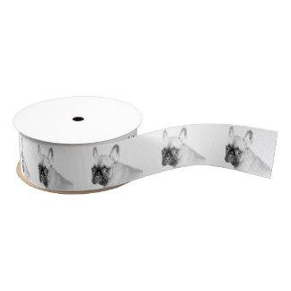 French Bulldog Grosgrain Ribbon