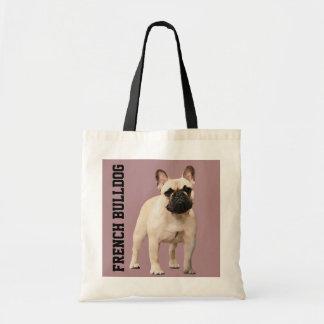 French Bulldog Illustrated Tote Bag
