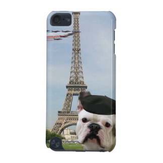 French bulldog in Paris iPod Touch (5th Generation) Cover