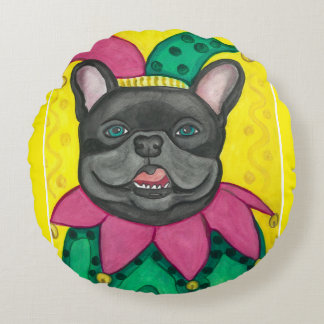 French Bulldog jester pillow