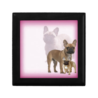 French Bulldog Jewelry Box