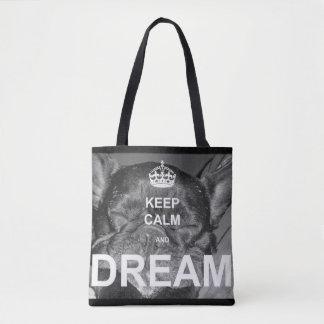 French Bulldog Keep Calm Tote Bag