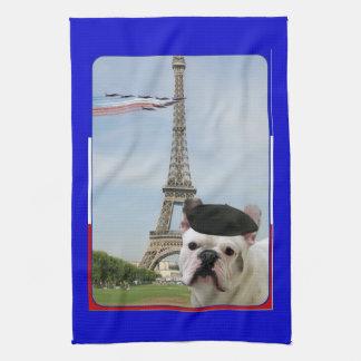 French Bulldog Kitchen Towel