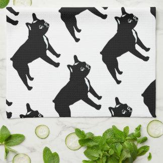French Bulldog Kitchen Towels