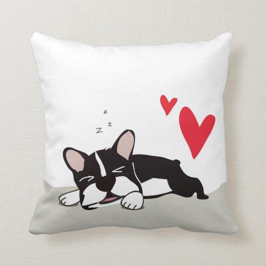 French Bulldog Love - Throw Pillow