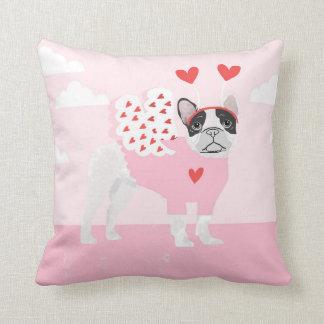 French Bulldog Love Valentines PIllow