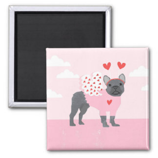French Bulldog Magnet - frenchie magnet