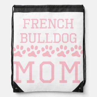 French Bulldog Mom Drawstring Bag
