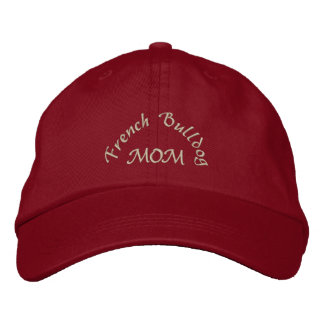 French Bulldog Mom Gifts Embroidered Hat