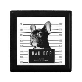 French Bulldog Mugshot Shirt Gift Box
