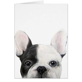 French Bulldog, Original painting by miart Card
