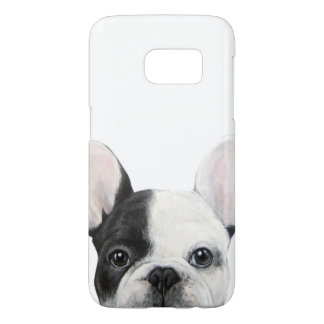 French Bulldog, Original painting by miart Samsung Galaxy S7 Case