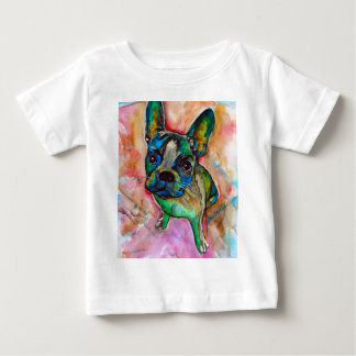 FRENCH BULLDOG PAINTING BABY T-Shirt