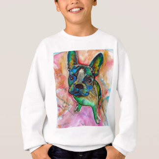 FRENCH BULLDOG PAINTING SWEATSHIRT
