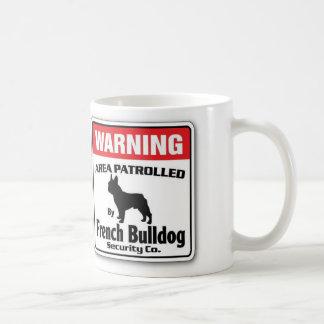 French Bulldog Patrolled Coffee Mug