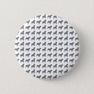 French Bulldog Pattern 2 Inch Round Button