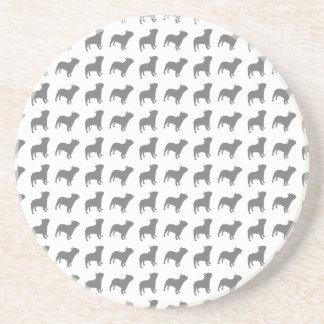 French Bulldog Pattern Coaster