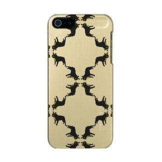 French Bulldog pattern Incipio Feather® Shine iPhone 5 Case