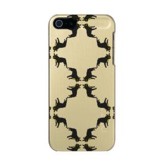 French Bulldog pattern Incipio Feather® Shine iPhone 5 Case