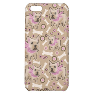 French Bulldog Pattern Case For iPhone 5C