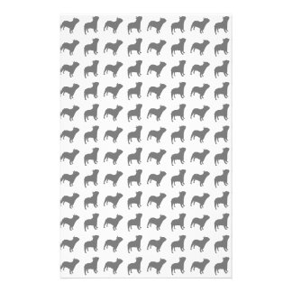 French Bulldog Pattern Stationery