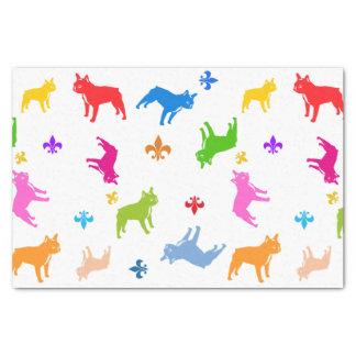 French Bulldog pattern Tissue Paper