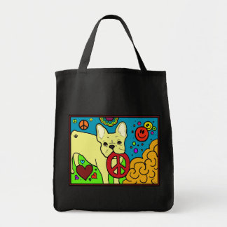 French Bulldog Peace Tote