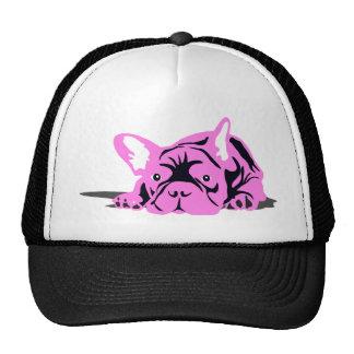 French Bulldog Pet pink Trucker Hat