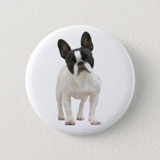French Bulldog photo button, pin, gift idea 2 Inch Round Button