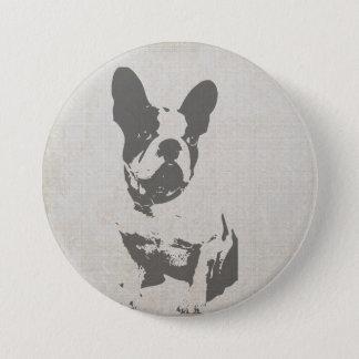 French Bulldog Pin Button