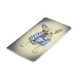 French Bulldog Pocket Journal